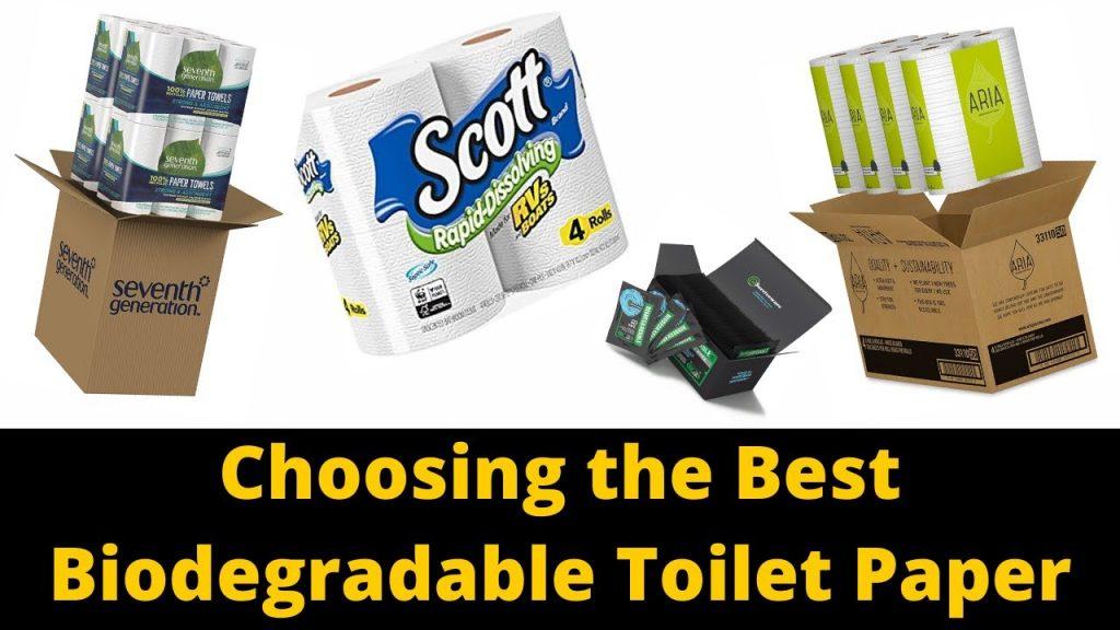 Best Biodegradable Toilet Paper