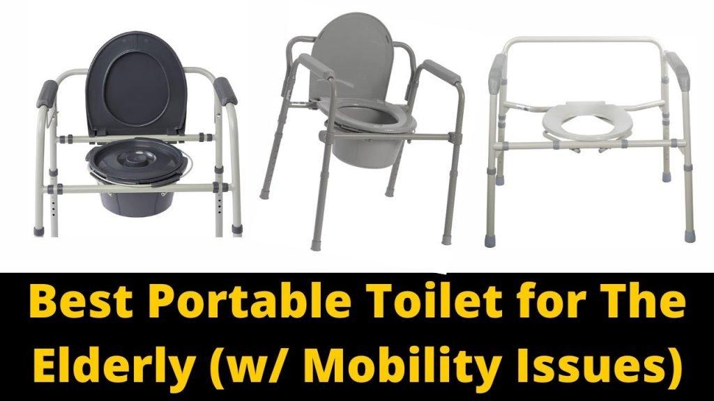 Best Portable Toilet for Elderly People