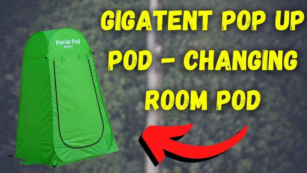 Gigatent Pop Up Pod Review
