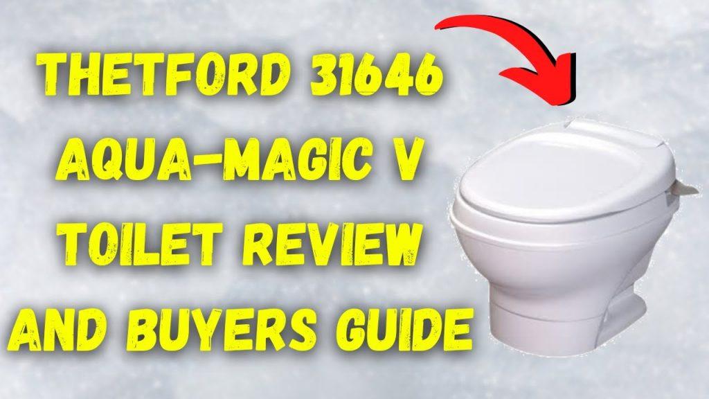 Thetford 31646 Aqua-Magic V Toilet